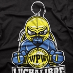 WPW World Power Wrestling/T-Shirt Illustration